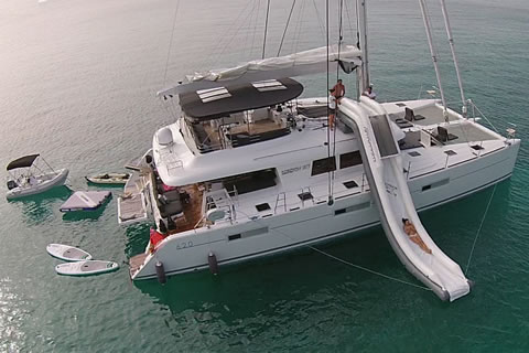 Charter yacht London Sky Meridian Yacht Charters