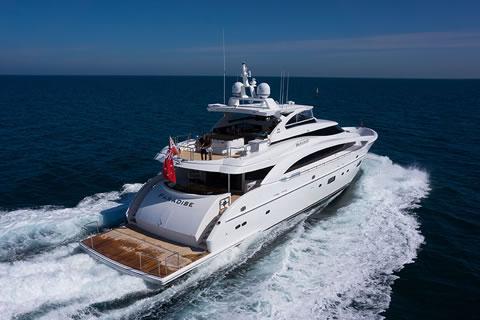 Paradise 116-ft Horizon Motor Yacht Charter