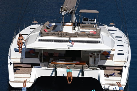 Port to Vino Caribbean catamaran yacht charter