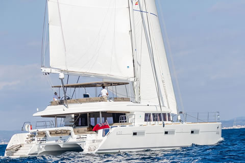 Moose 62ft Catamaran Charter Yacht